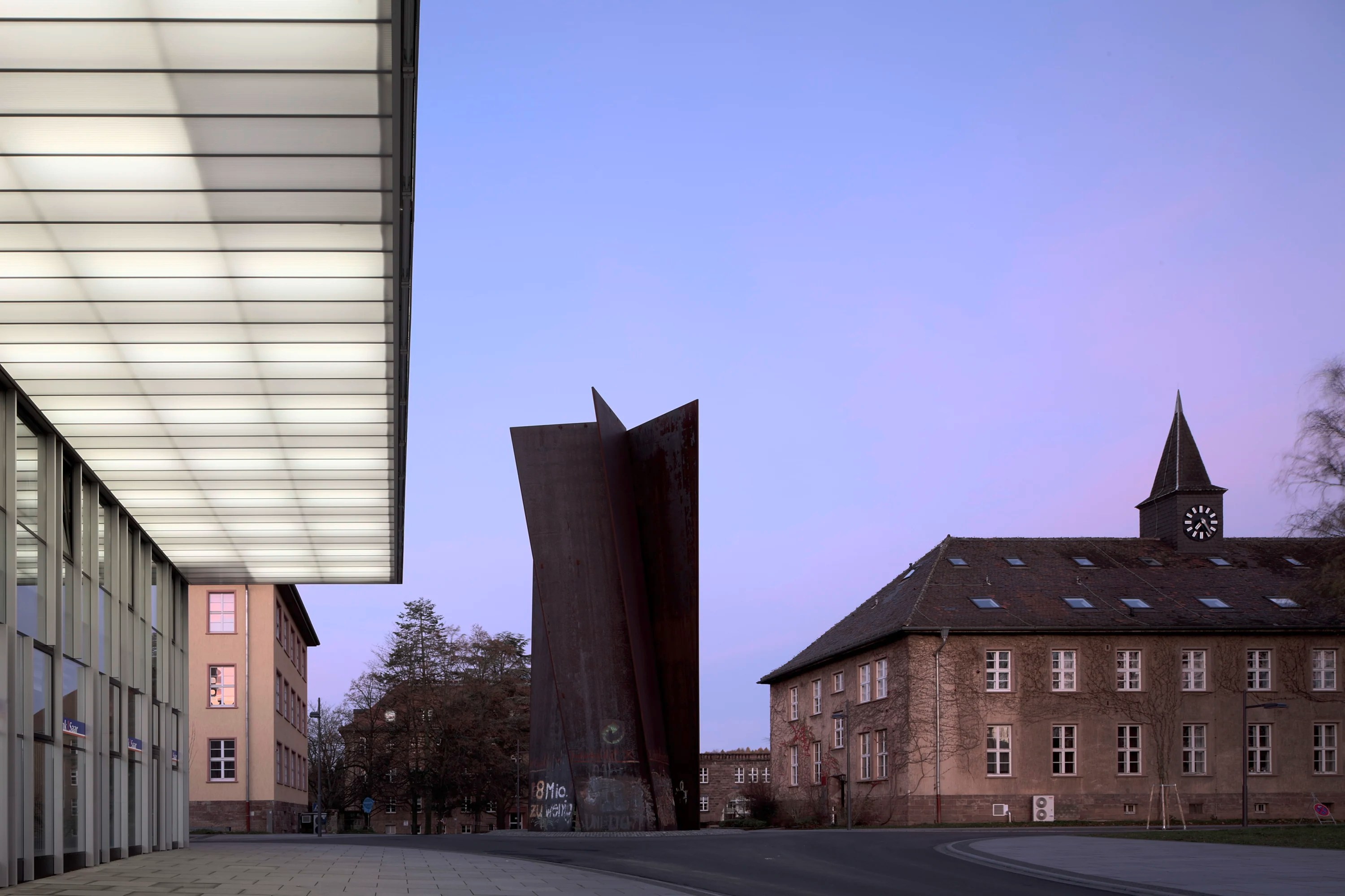 Architekt Saarland Veauthier Architekten · Campus Center Saarland University · Divisare