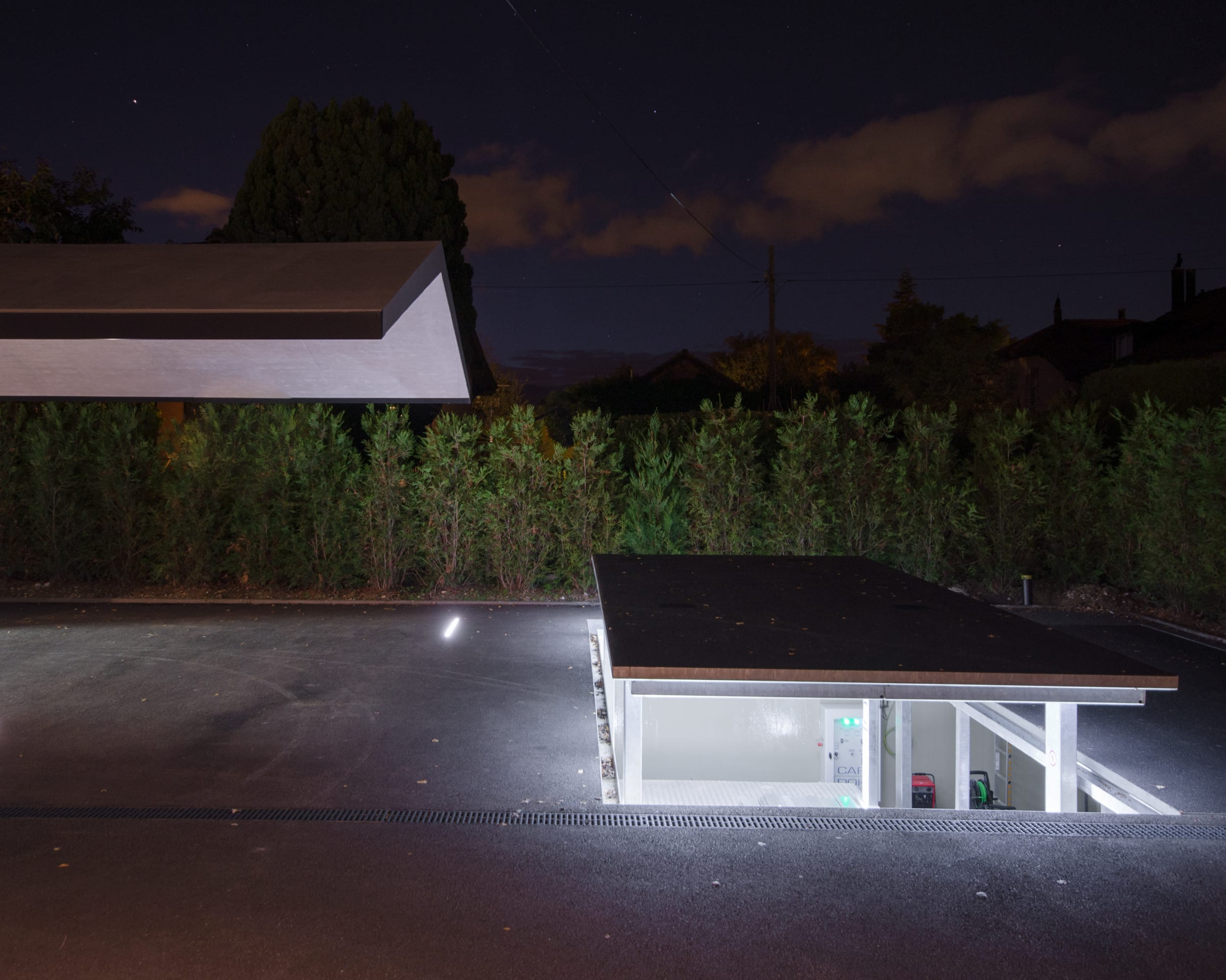 Karpot Atelier B29 Architects · Private Car Display With Underground Carport · Divisare