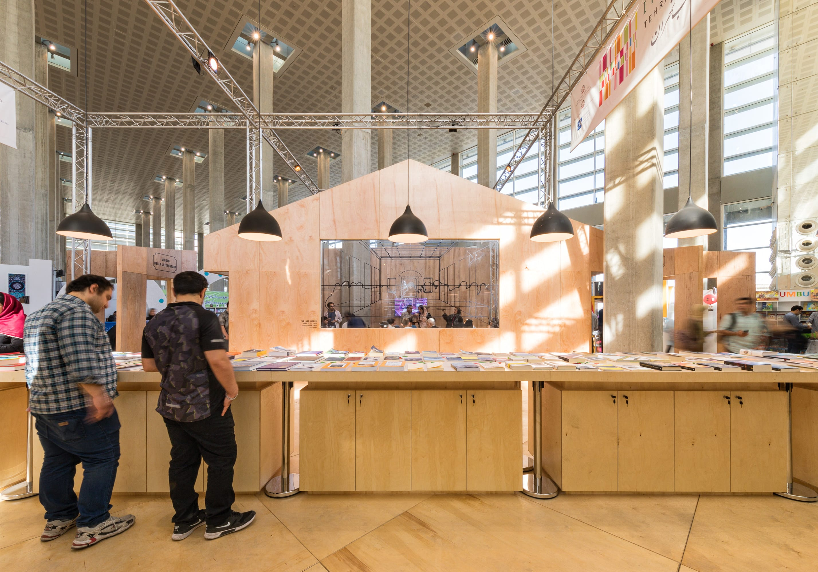 Pop Up Book Fair Montreal Diba Group Diba Tensile Architecture Italian Pavilion At