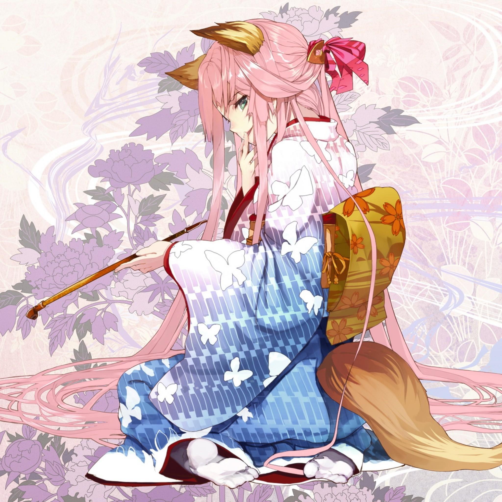 Fox Girl Anime Wallpaper きつねの女の子 アニメのipad壁紙 Ipad タブレット壁紙ギャラリー