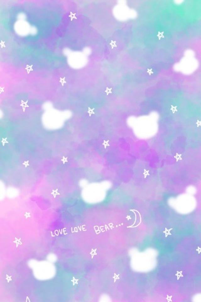 Bb 8 Cute Wallpaper Love Love Bear Iphone壁紙ギャラリー