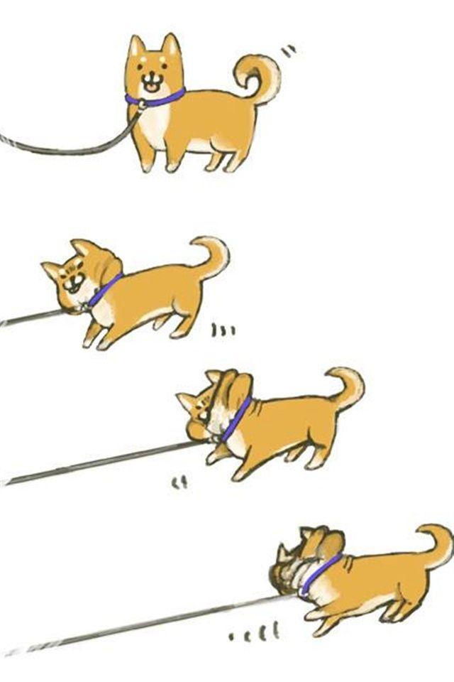 Cute Dachshund Wallpaper 【人気209位】犬かわいいイラスト Iphone壁紙ギャラリー