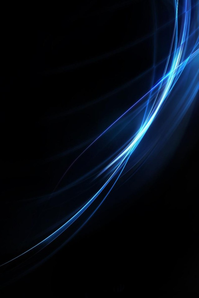 3d Wallpaper Parallax Pro Download Blue On Black Background Lines Iphone Wallpaper