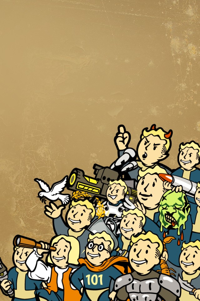 Boy Fall In Love Wallpaper Fallout Qwe Iphone 5壁紙 Iphone壁紙ギャラリー