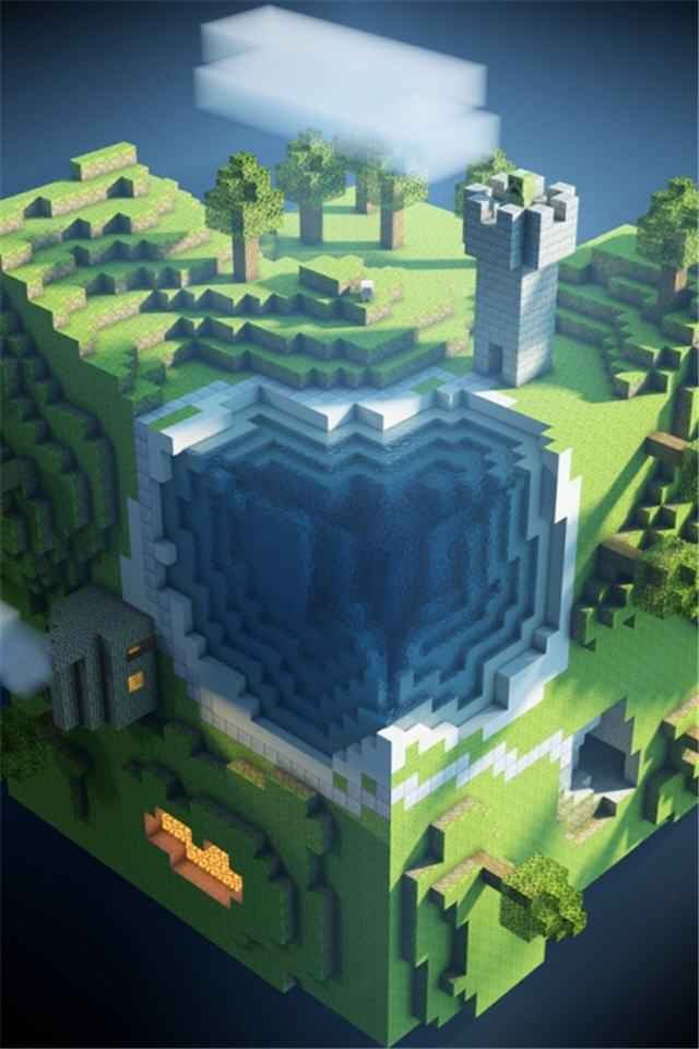 Iphone Wallpaper For Pc Free Download Minecraft Iphone Wallpaper 640x960 Iphone