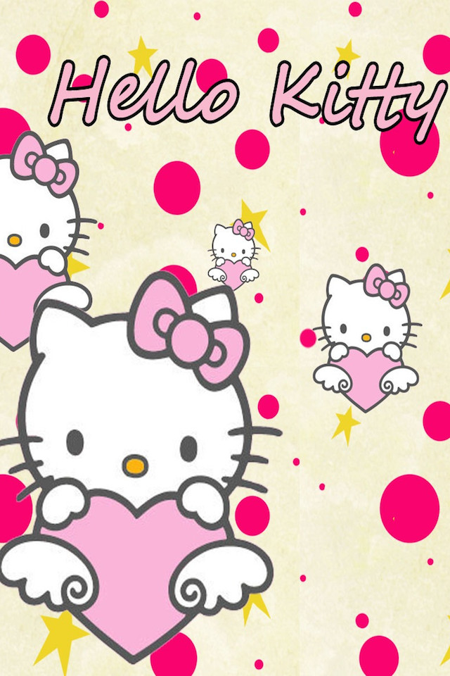 Cute Hello Kitty Wallpapers For Iphone キティちゃんのカワイイ壁紙【女子向け💕】 Iphone壁紙ギャラリー