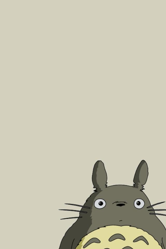 Cute Totoro Wallpaper となりのトトロ ジブリのiphone壁紙 Iphone壁紙ギャラリー