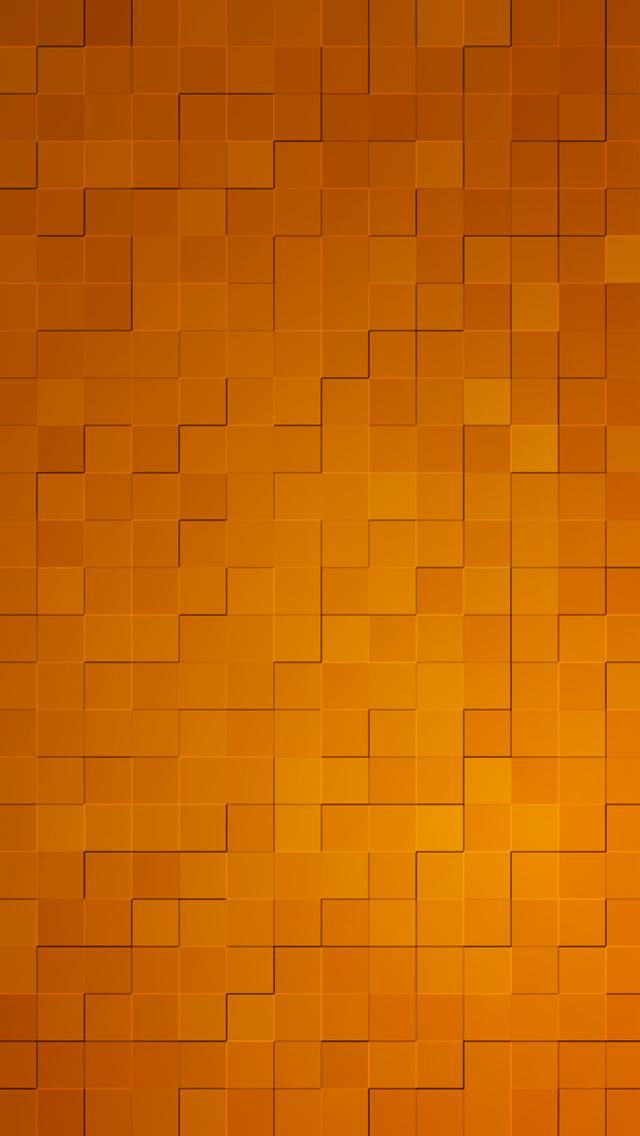 3d Wallpaper App For Iphone タイル模様(オレンジ) スマホ壁紙 Iphone待受画像ギャラリー