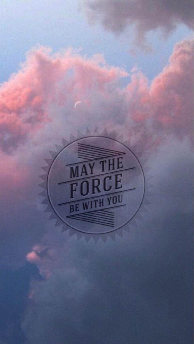 Floral Wallpaper For Iphone 5 May The Force Be With You スター・ウォーズのiphone壁紙 スマホ壁紙