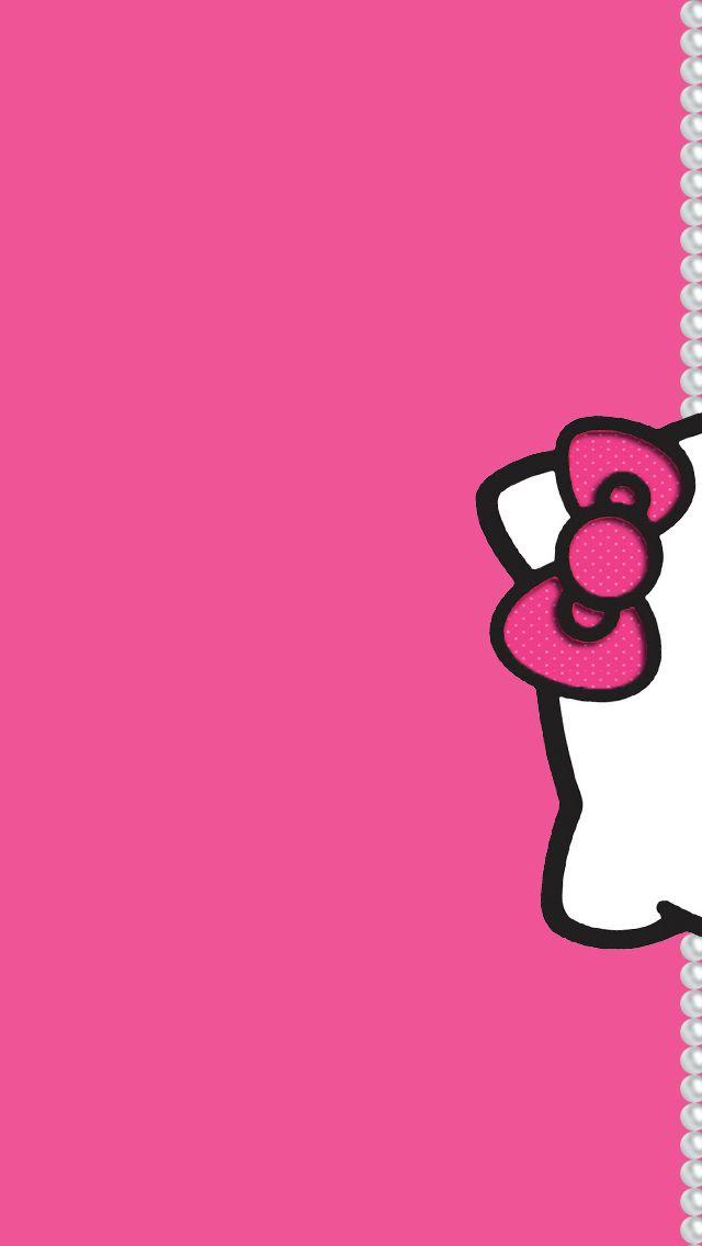 Cute Heart Wallpaper Background キティちゃんのiphone壁紙 スマホ壁紙 Iphone待受画像ギャラリー