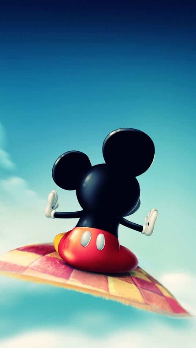 Gucci Wallpaper Iphone 6 絨毯に乗ったミッキーマウス Iphone 5s 壁紙 スマホ壁紙 Iphone待受画像ギャラリー