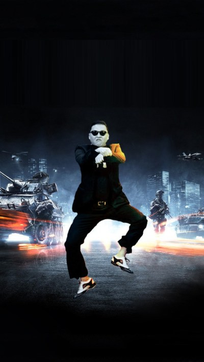 Gangnam Style Psy Battlefield iPhone 5 Wallpaper Download | iPad Wallpapers & iPhone ...