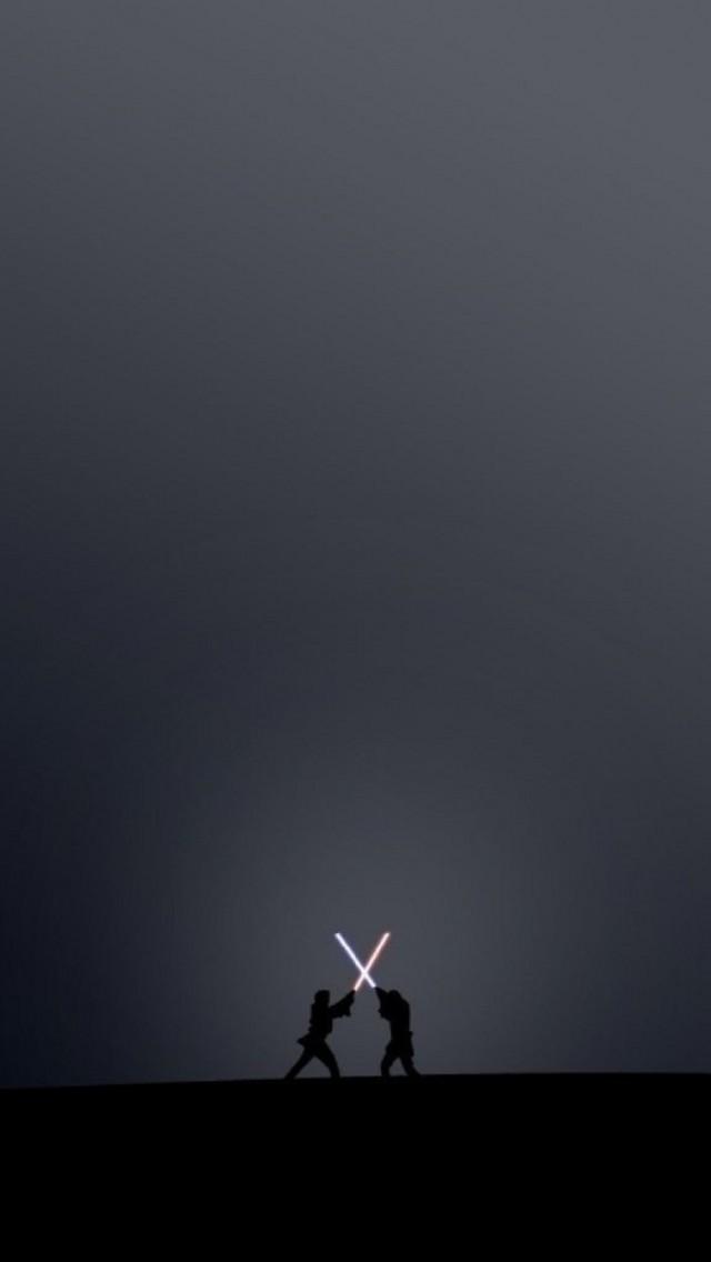 3d Wallpaper App For Iphone ライトセーバーの戦い(スターウォーズ ) スマホ壁紙 Iphone待受画像ギャラリー