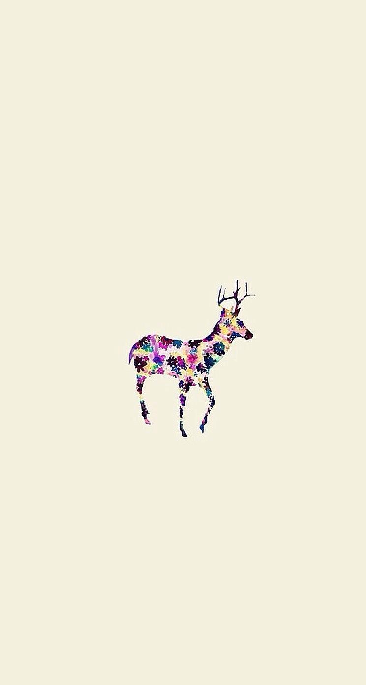 Fall Winter Iphone Wallpaper 【人気150位】鹿 おしゃれなイラスト壁紙 Iphone5s壁紙 待受画像ギャラリー