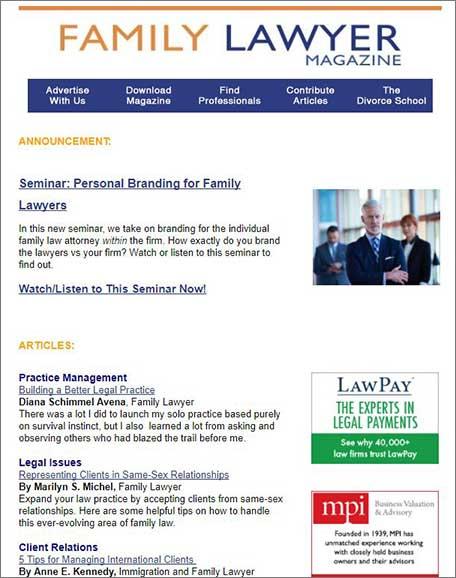 FLM-Newsletter-Sample - Divorce Marketing Group