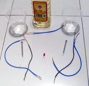Material necesario para fabricar una pila