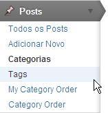 submenu tags menu posts blog wordpress