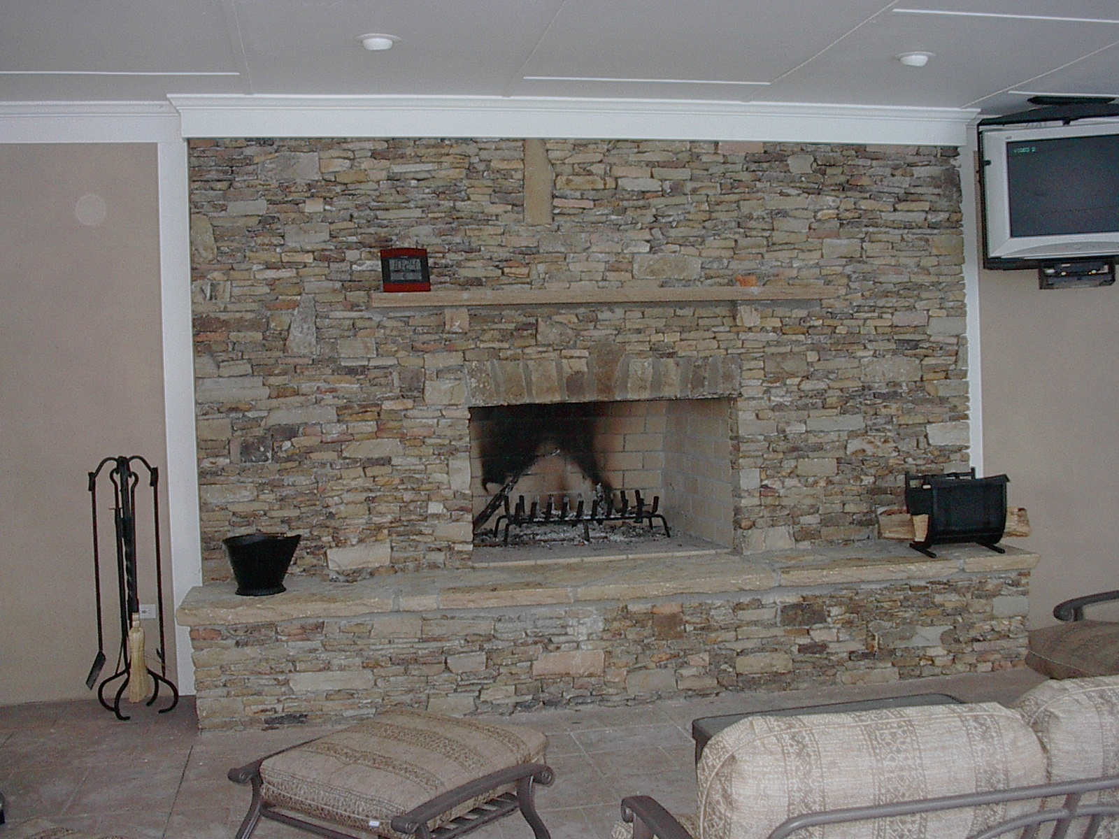 Kitchen Gallery Monroe Ga Stacked Stone For A Fireplace | Simple Home Decoration