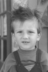 Portrait de Lény petit