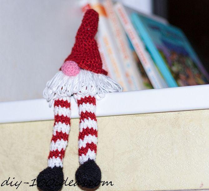 Crochet christmas gnome DIY 100 Ideas
