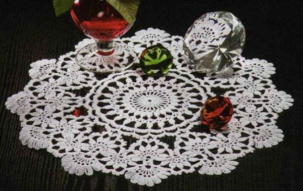 20 Free Crochet Round Doily Patterns DIY 100 Ideas