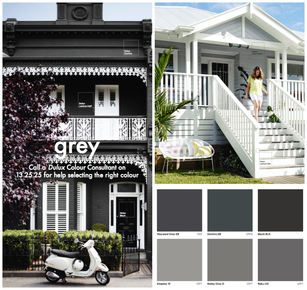 Grey house paint colours diy decorator for Best paint for homes
