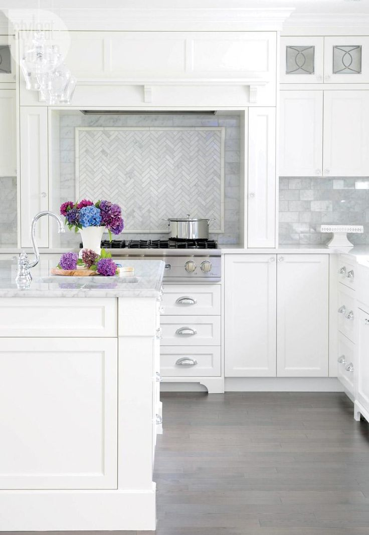 Beautiful white kitchens diy decorator - All about kitchens ...