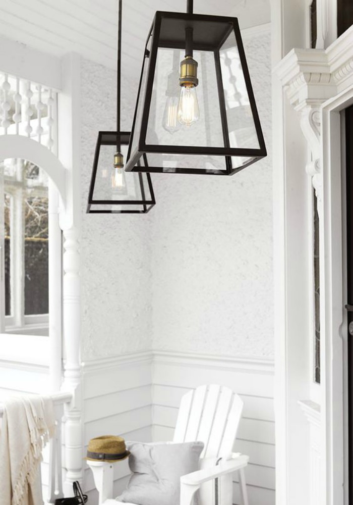 Lantern Bathroom Lighting Hamptons Style Outdoor Lighting - Diy Decorator