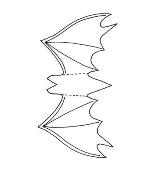 diy-halloween-decorations-paper-crafts-bat-template - - bat template