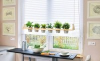 DIY kitchen herb garden - How to make a hanging container