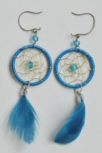 How to make dreamcatcher earrings  DIY is FUN