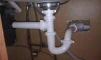 Replumbing an improper trap.  Home Improvement Stack ...
