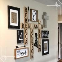 DIY Farmhouse Scrabble Wall Art Decorating Ideas - DIY ...