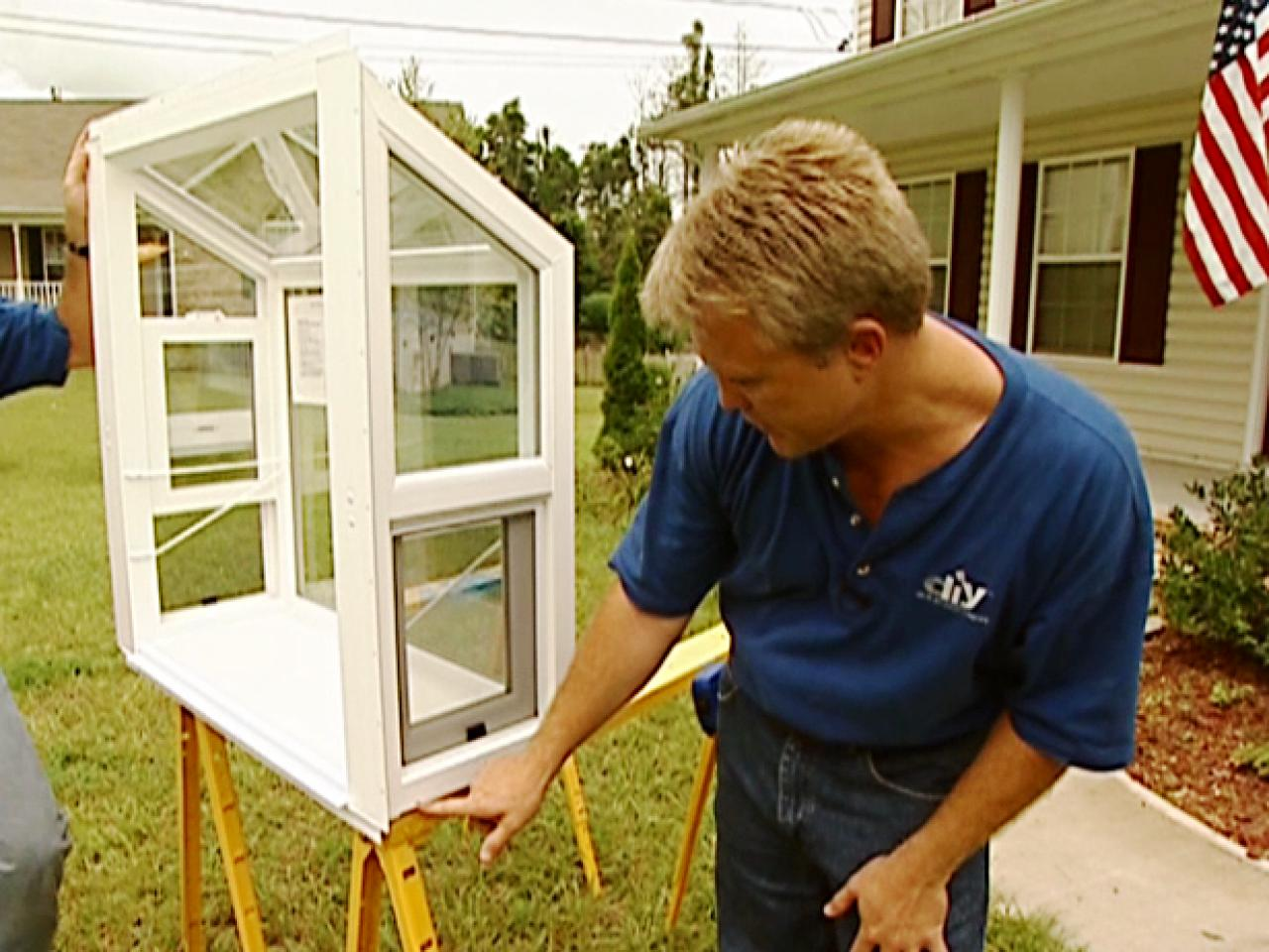 Diy Garden Window Plans How To Fit And Install A Garden Window How Tos Diy