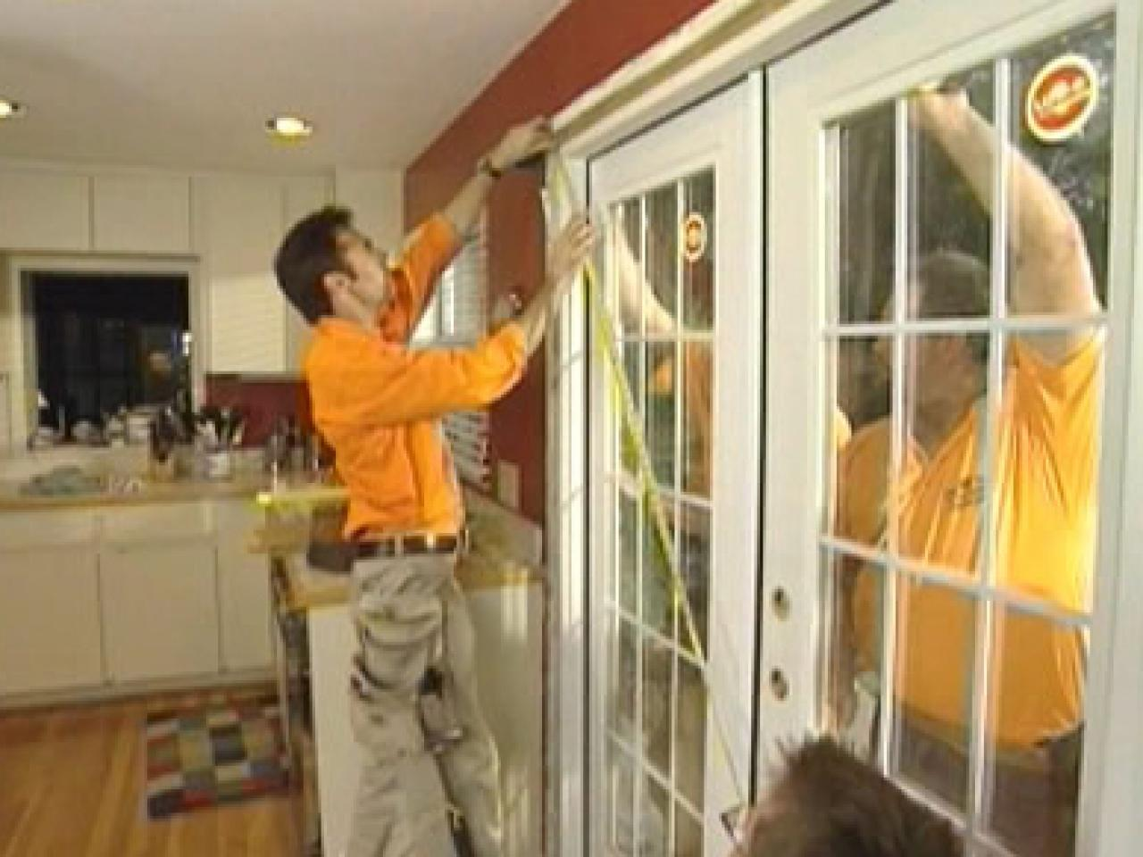 Replace Doors How To Remove And Replace Exterior French Doors How Tos Diy