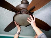 How to Replace a Light Fixture With a Ceiling Fan