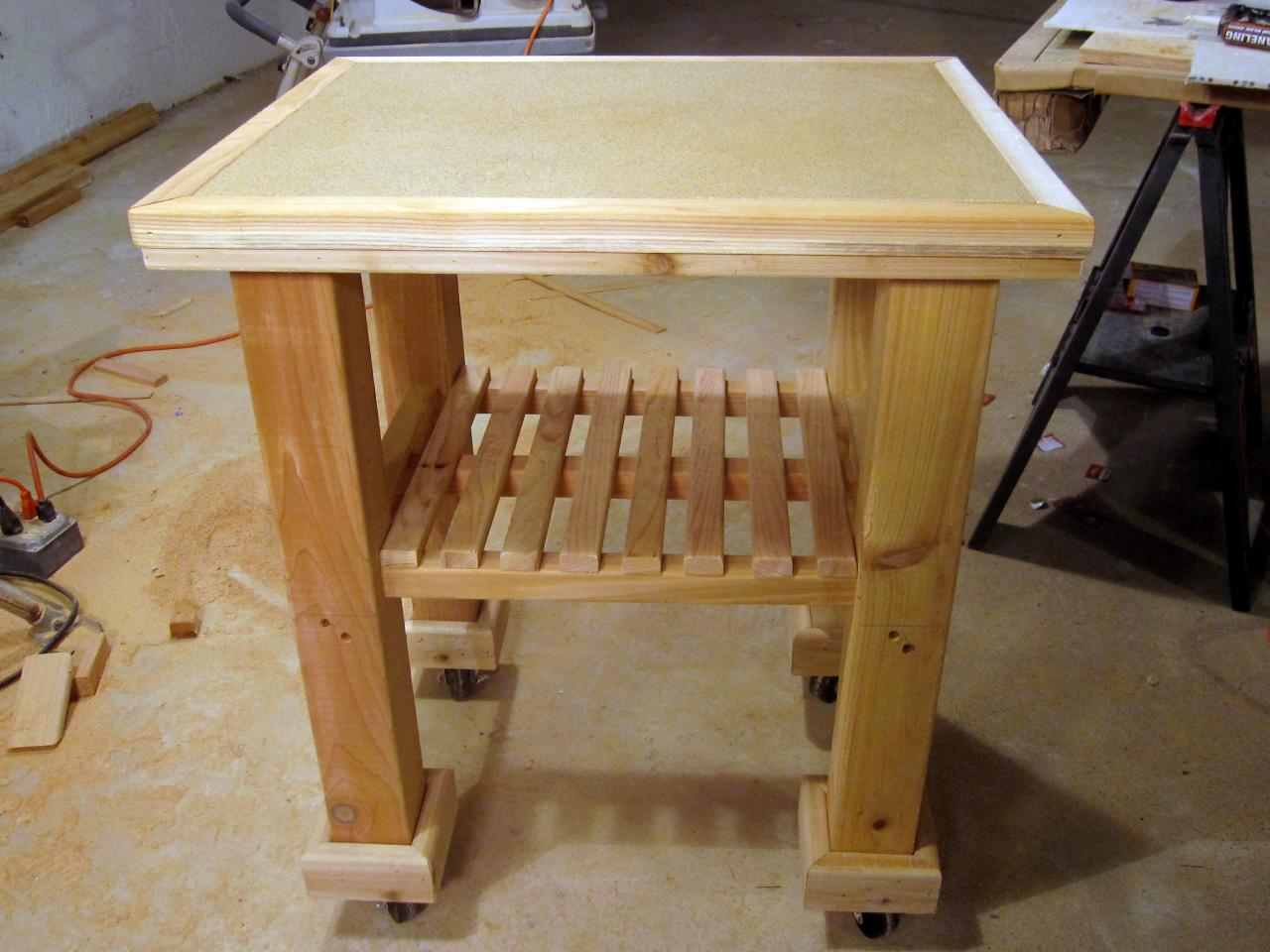 Diy Kitchen Island Design Plans How To Build A Kitchen Cart How Tos Diy