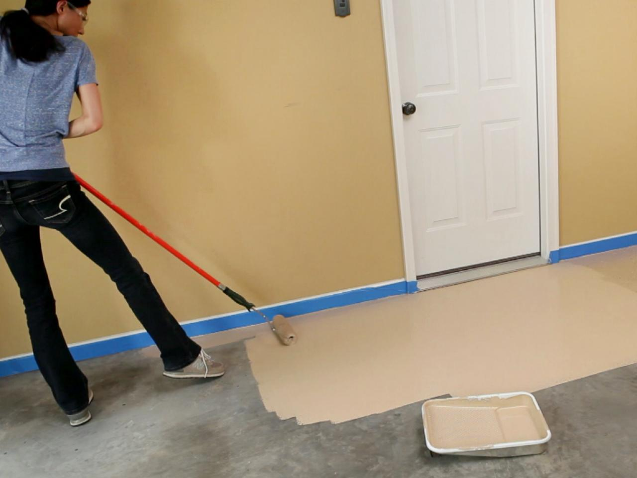 Diy Deck Cleaner Cleaning A Garage Floor How Tos Diy