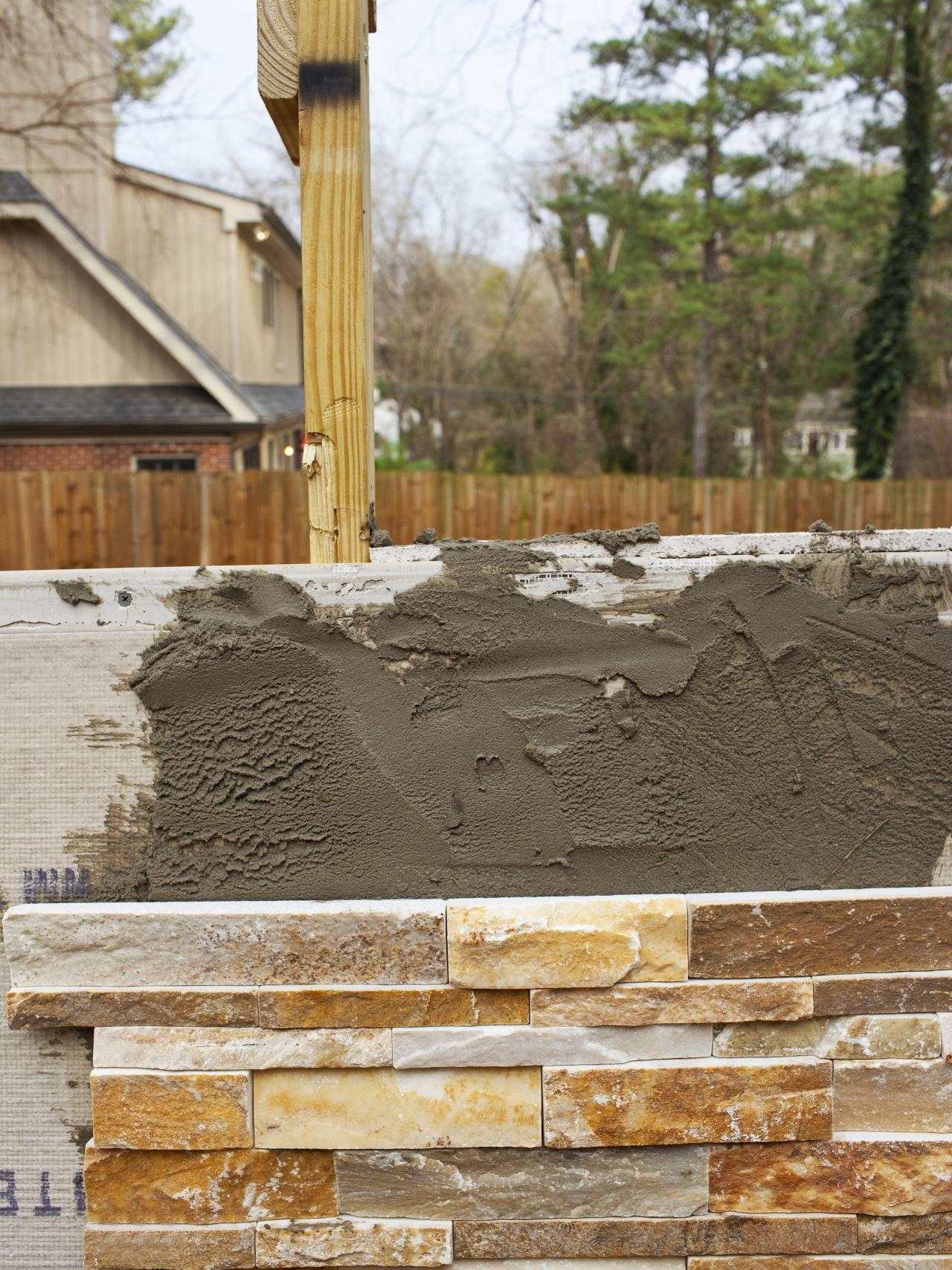 Fire Stones For Fireplace How To Build An Outdoor Stacked Stone Fireplace How Tos Diy