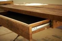 How to Build a Reclaimed Wood Office Desk