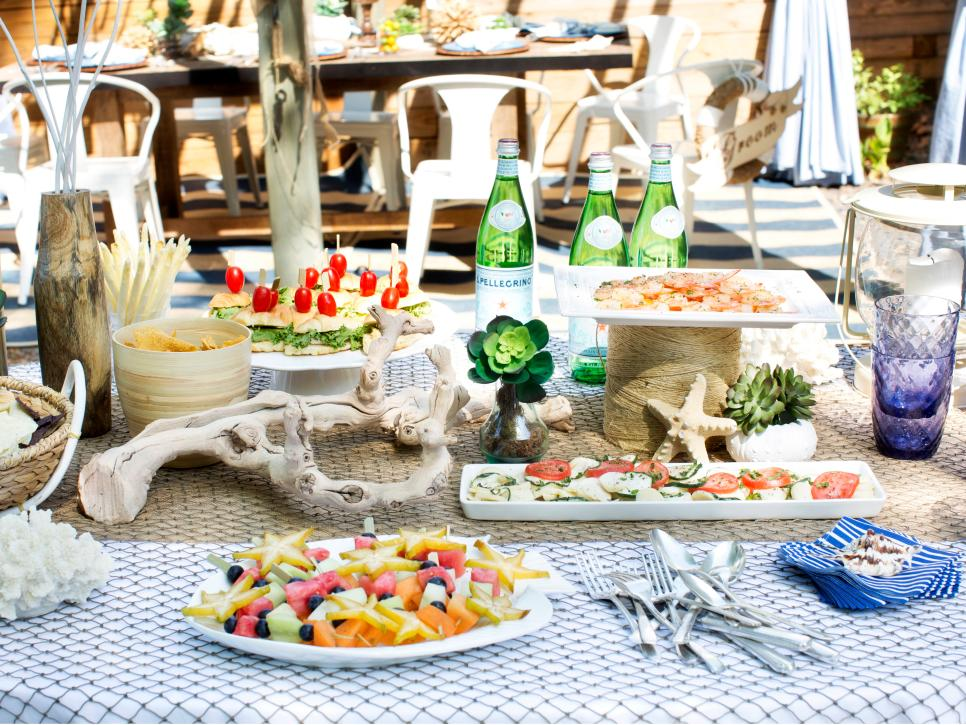 How To Host A Beach Themed Wedding Shower Diy