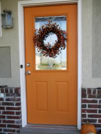 Popular colors to paint an entry door | DIY