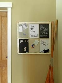 DIY Memo Boards, Bulletin Boards and Message Boards