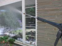 How to Pressure Wash Windows