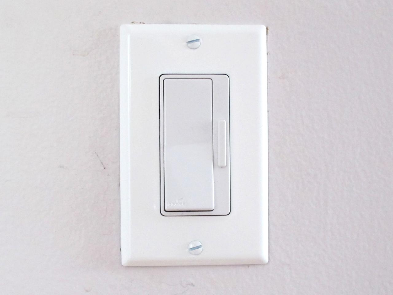 Zekering Dimmer Vervangen How To Install A Dimmer Switch How Tos Diy