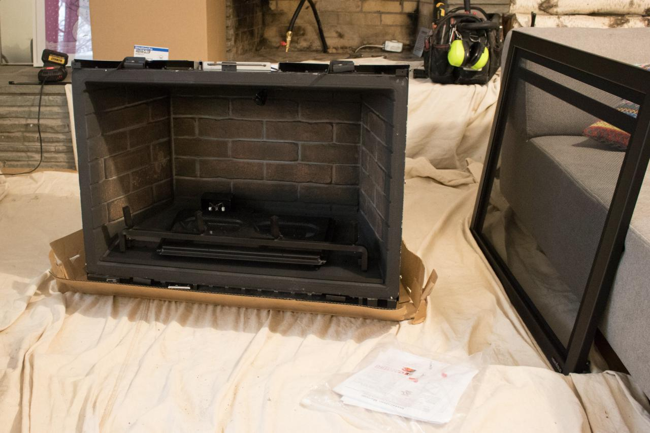 Build Your Own Fireplace Insert Choosing A Gas Fireplace For Your Home Diy Network Blog Made