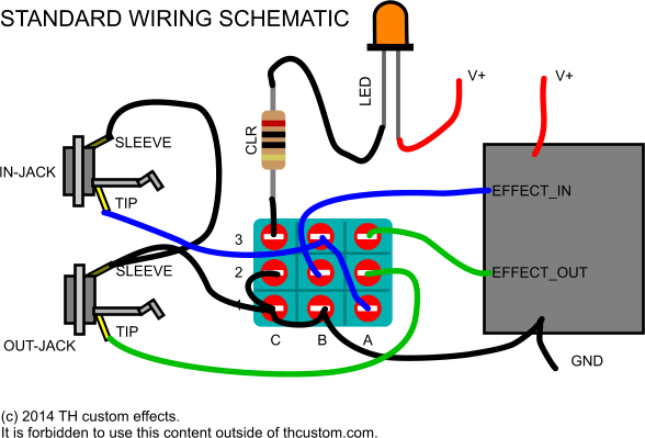 Switching Mechanical switches  standard wiring diagrams \u2013 TH
