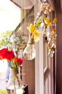 DIY Project  Light Bulb Bud Vase  Perfect for Table ...