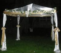 2dBrides DIY Chuppah (Jewish wedding canopy)   Weddingbee ...
