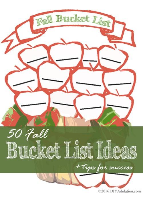 50 Fall Bucket List Ideas + Tips for Success